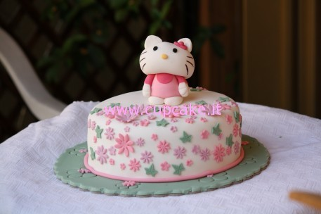 Torta Hello Kitty Parte 2