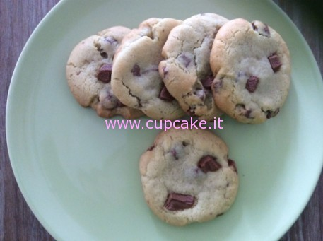 ricetta-chocolate-chunk-cookies