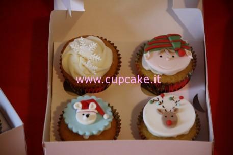 cupcakes decorati di natale