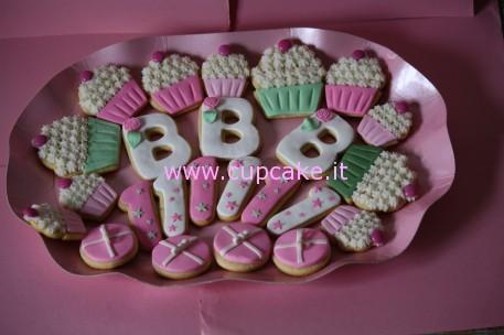 Biscotti Decorati Primo Compleanno