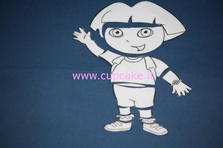 Disegno Dora l'Esploratrice
