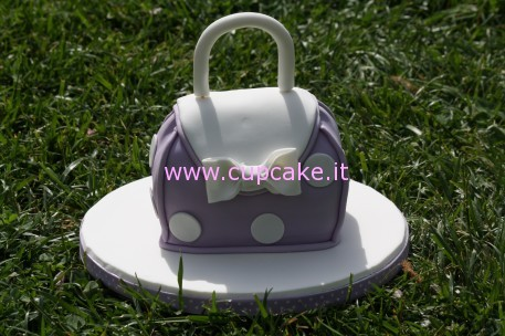 torta scolpita mini borsa