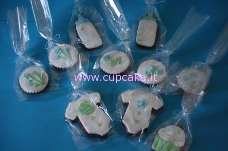 biscotti decorati nascita