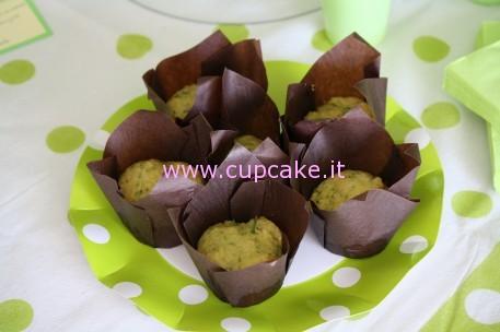 cupcakes zucchine parmigiano