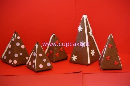 biscotti albero di natale 3d