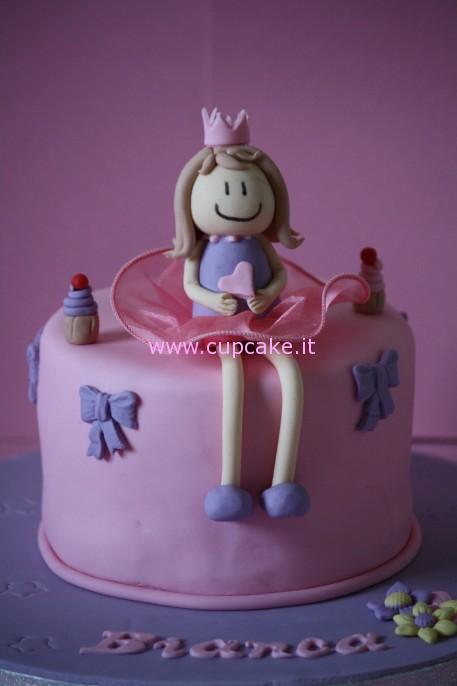 torta con principessa