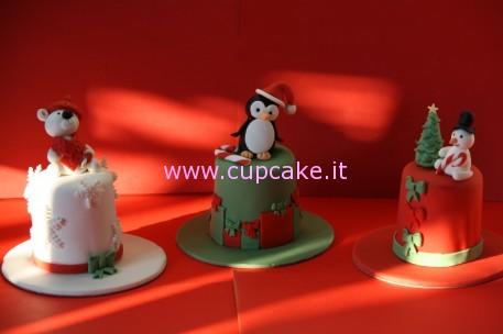 mini cakes di natale