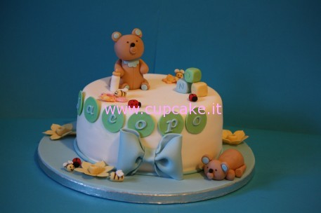 torta per battesimo